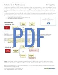 FAC Tip 18 - Provide Evidence v4 BB